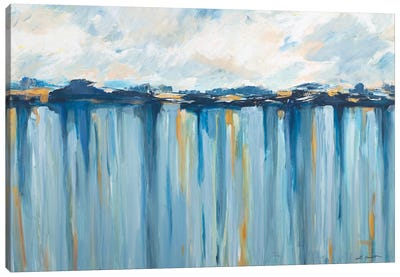 Ocean Blues Canvas Art Print
