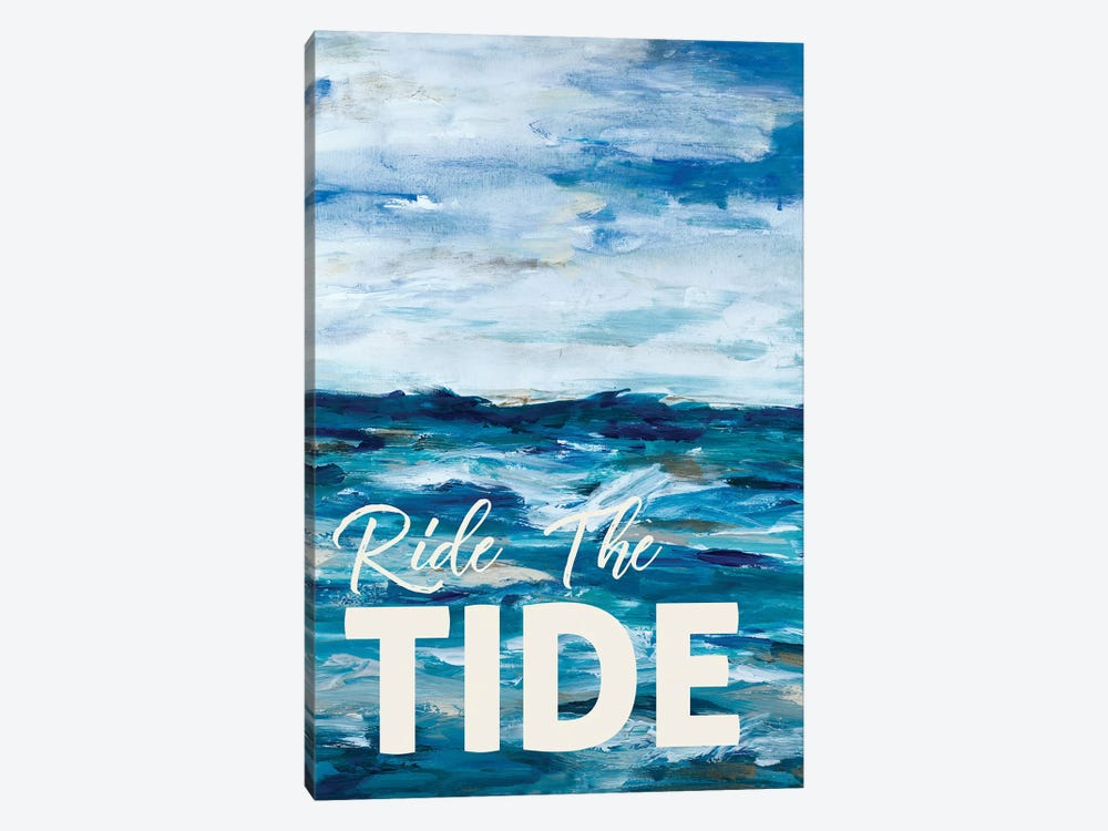 Ride The Tide by L. Hewitt 1-piece Art Print