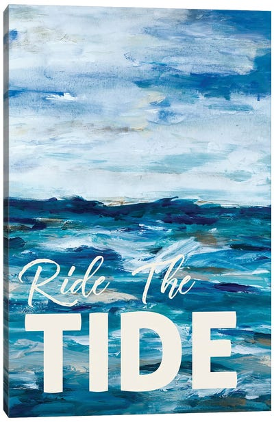 Ride The Tide Canvas Art Print