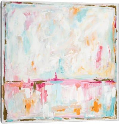 Cotton Candy Cloud Canvas Art Print