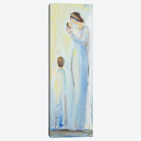 Heaven's Angel Canvas Print #LHW7} by L. Hewitt Canvas Art