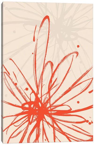 Mandarin Burst I Canvas Art Print