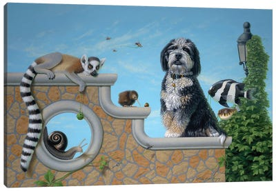 Kudzu And Friends Canvas Art Print