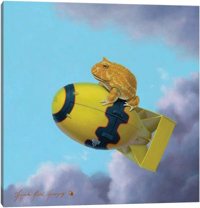 Pacman Fat Man Canvas Art Print