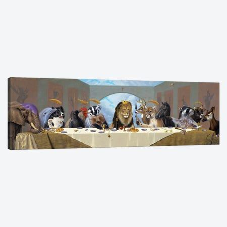 Last Supper Canvas Print #LHZ31} by Linda Ridd Herzog Canvas Wall Art