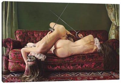 The Duel Canvas Art Print