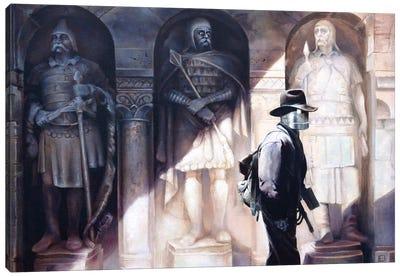 The Walls Have Eyes Canvas Art Print