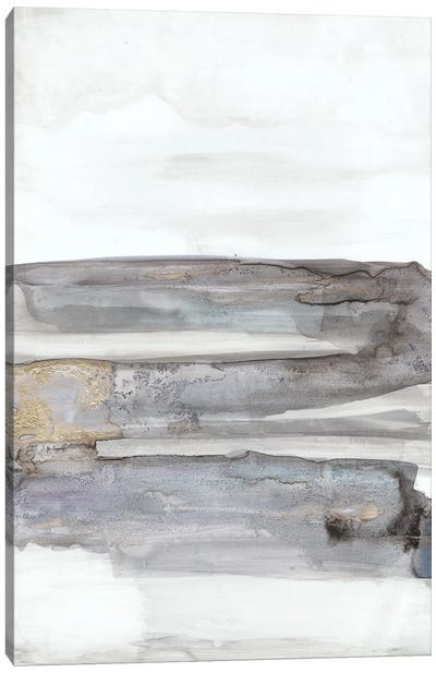 Organic Seascape Blue I Canvas Art Print