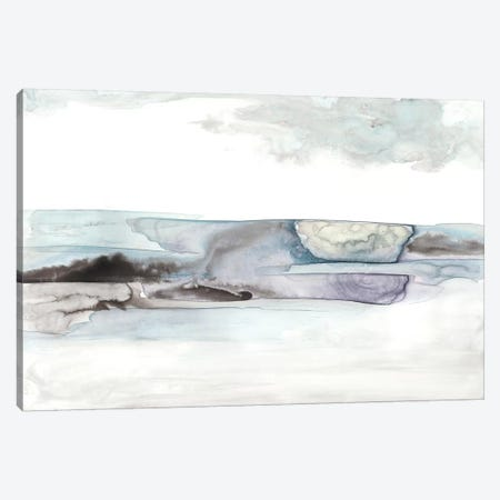 Organic Seascape Blue II Canvas Print #LIB30} by Lila Bramma Canvas Art Print