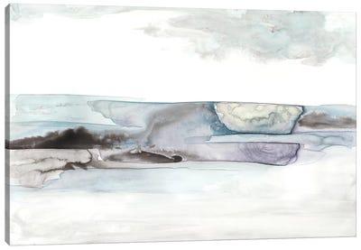 Organic Seascape Blue II Canvas Art Print