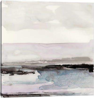 Organic Seascape Blue III Canvas Art Print