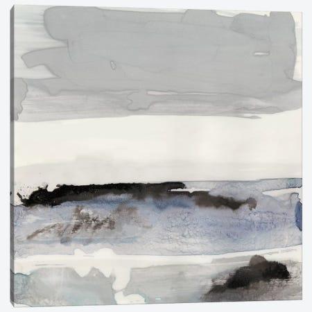 Organic Seascape Blue IV Canvas Print #LIB32} by Lila Bramma Art Print