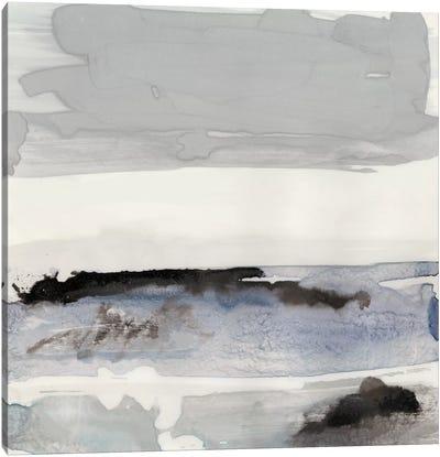 Organic Seascape Blue IV Canvas Art Print