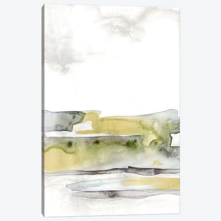 Organic Seascape Green I Canvas Print #LIB33} by Lila Bramma Canvas Print