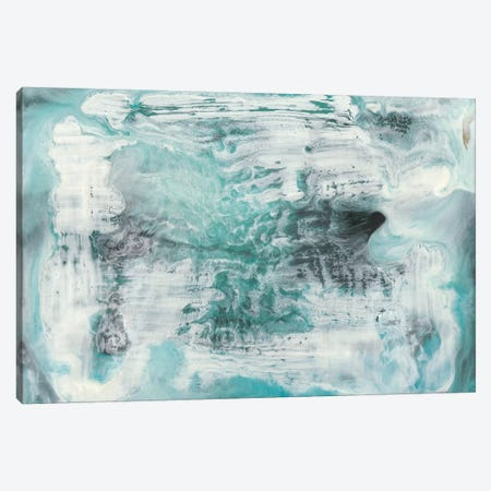 Turquoise Light I Canvas Print #LIB56} by Lila Bramma Canvas Art