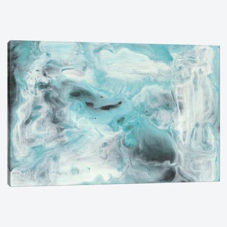 Turquoise Light II Canvas Print #LIB57} by Lila Bramma Canvas Artwork
