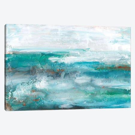 Aqua Sea II Canvas Print #LIB58} by Lila Bramma Canvas Art Print