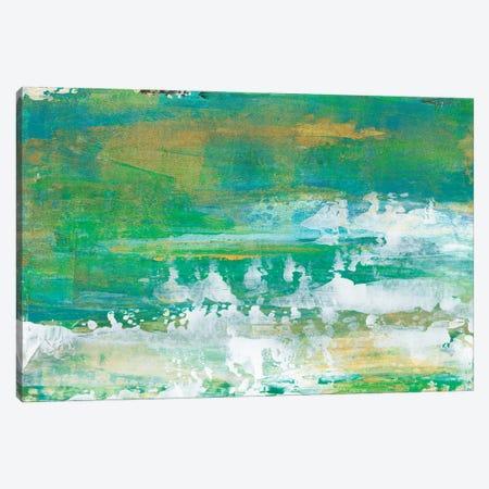 Chartreuse & Aqua I Canvas Print #LIB59} by Lila Bramma Canvas Art Print
