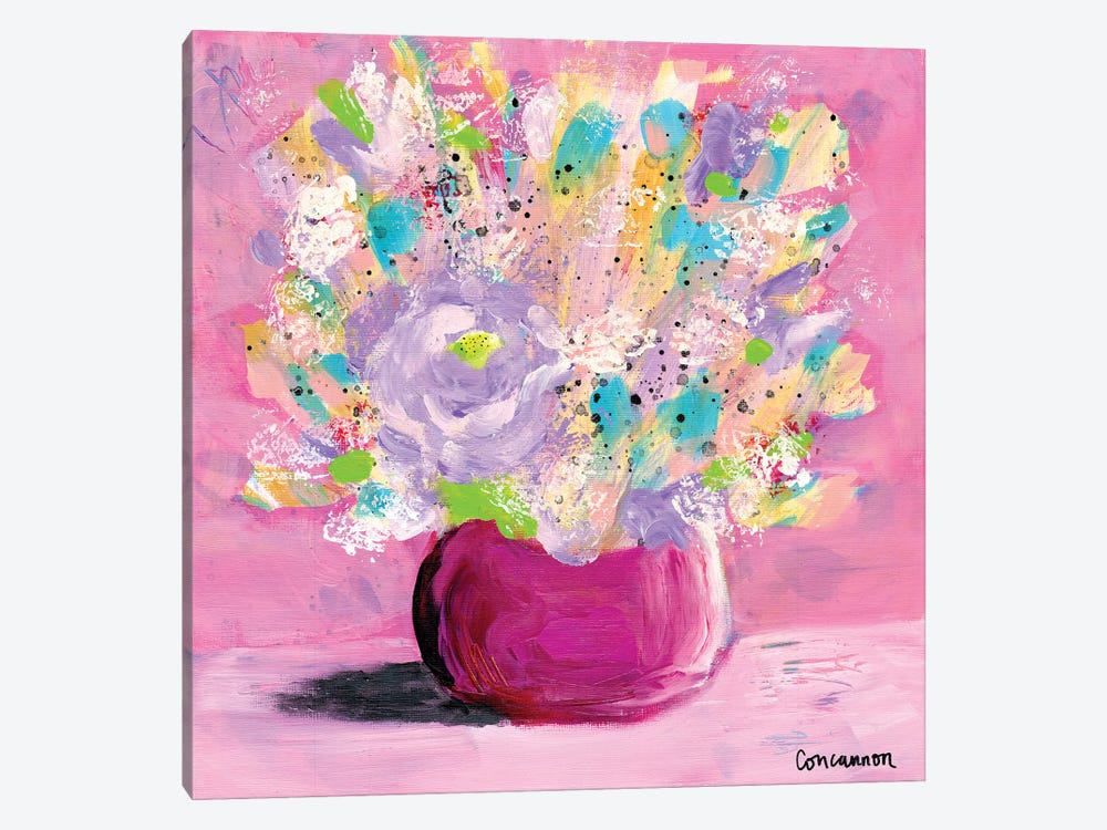 Confetti by Lisa Concannon 1-piece Canvas Artwork