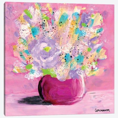 Confetti Canvas Print #LIC10} by Lisa Concannon Canvas Wall Art