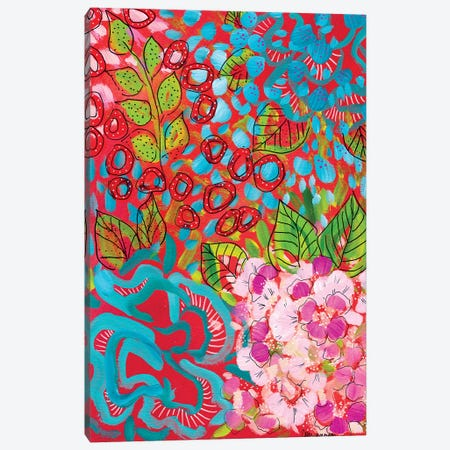 In Fresh Bloom Canvas Print #LIC21} by Lisa Concannon Art Print