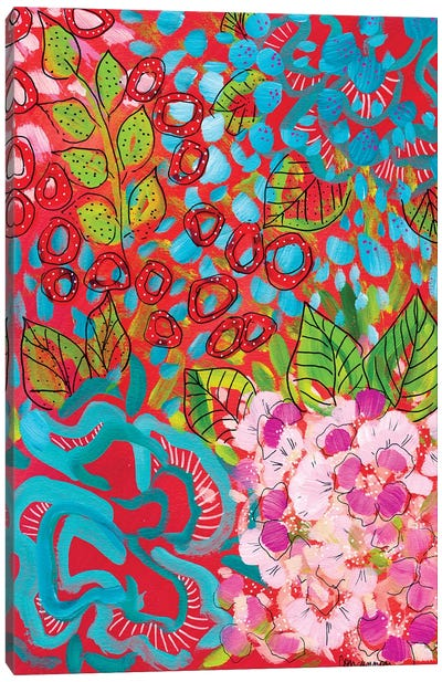 In Fresh Bloom Canvas Art Print
