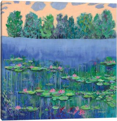 June Canvas Art Print