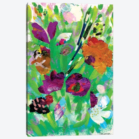 Petals I Have Become Canvas Print #LIC31} by Lisa Concannon Canvas Wall Art