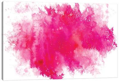 Pink Galaxy Canvas Art Print