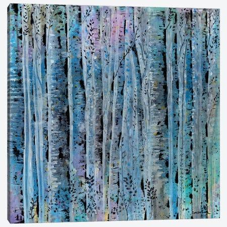 Sliver Trees Canvas Print #LIC34} by Lisa Concannon Art Print