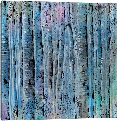 Sliver Trees Canvas Art Print
