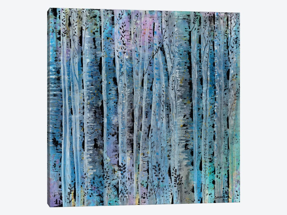 Sliver Trees by Lisa Concannon 1-piece Canvas Artwork
