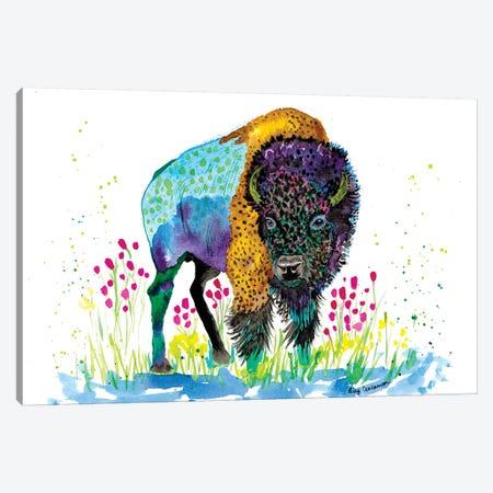 West Canvas Print #LIC40} by Lisa Concannon Canvas Print