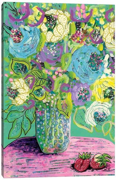 Strawberry Crush Canvas Art Print