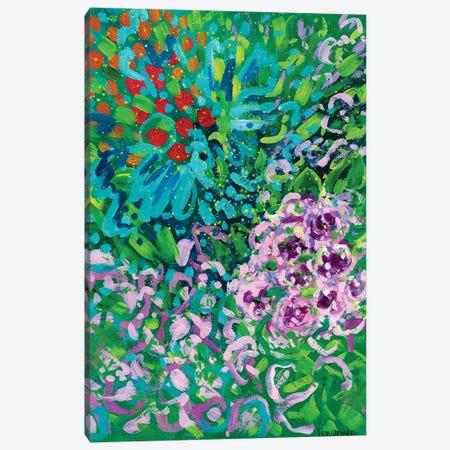 Color Blues Canvas Print #LIC9} by Lisa Concannon Art Print