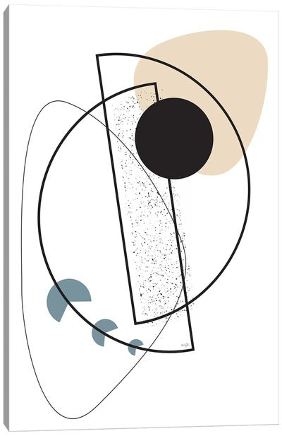 Geometric Mobile Canvas Art Print