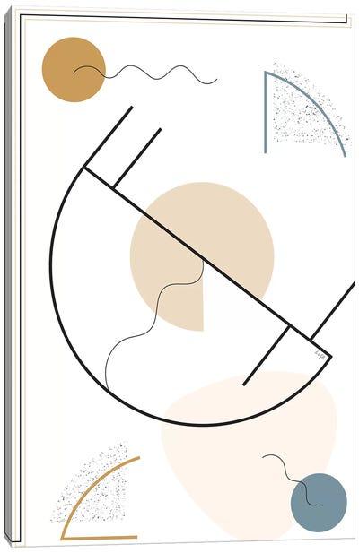 Geometric Shape I Canvas Art Print