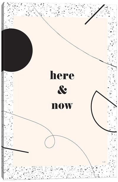 Here And Now Canvas Art Print