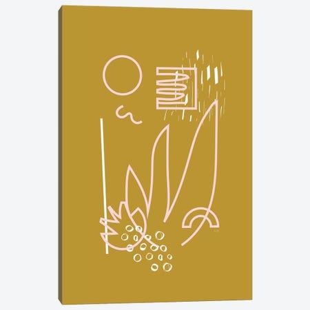 Abstract Garden Canvas Print #LIG1} by Linda Gobeta Canvas Print