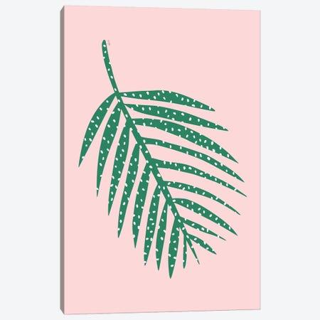 Palm Leaf Canvas Print #LIG23} by Linda Gobeta Canvas Print