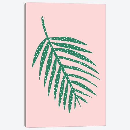 Palm Leaf Canvas Print #LIG23} by Linda Gobeta Canvas Print