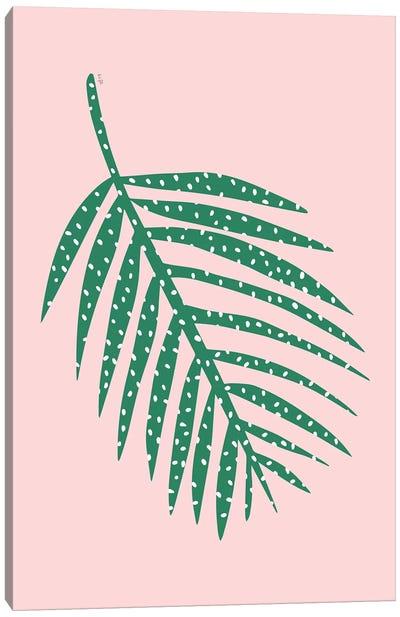 Palm Leaf Canvas Art Print