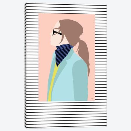 Street Fashion Canvas Print #LIG34} by Linda Gobeta Canvas Print