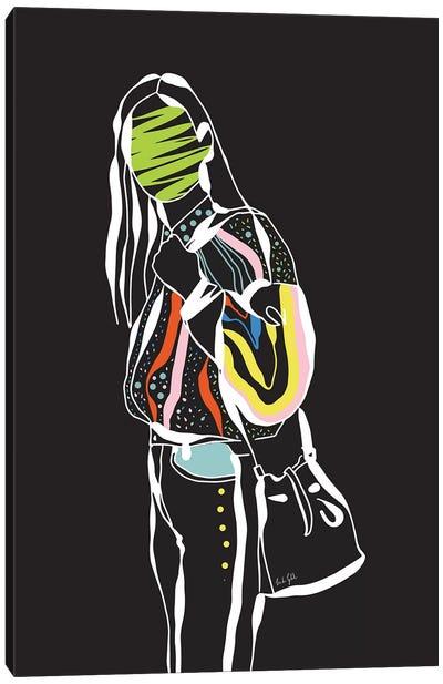 Trendy Girl Canvas Art Print