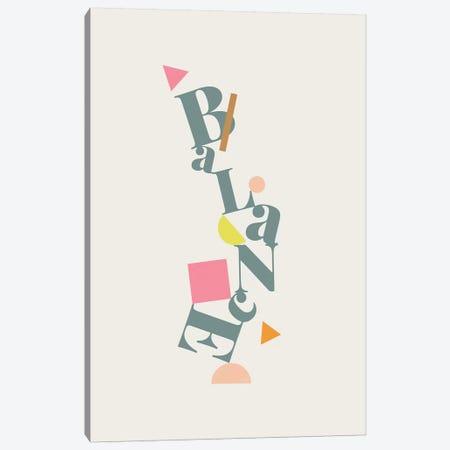 Balance Canvas Print #LIG4} by Linda Gobeta Canvas Artwork