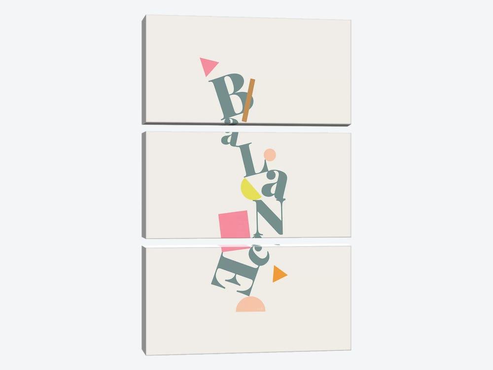 Balance by Linda Gobeta 3-piece Canvas Print