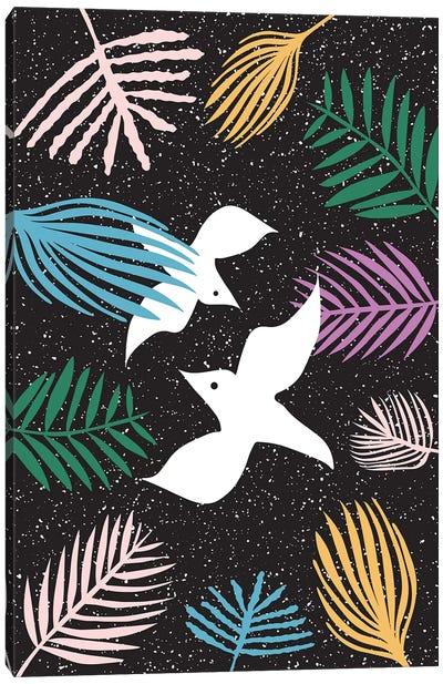 Birds Of Paradise Canvas Art Print