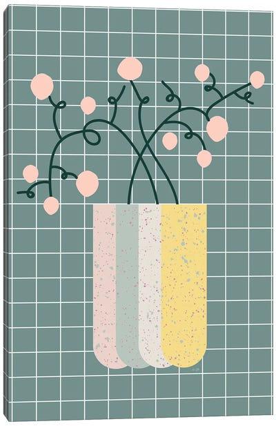 Flower Vase Canvas Art Print