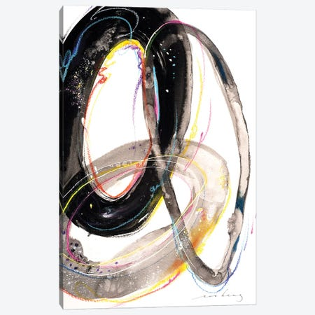 Swirly Whirls II Canvas Print #LIM102} by Soo Beng Lim Canvas Print
