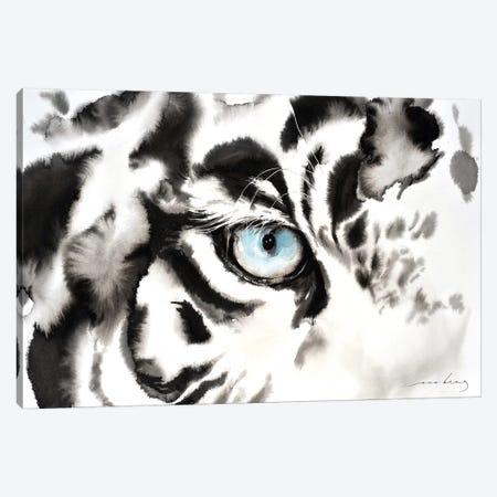 Tiger Look Canvas Print #LIM103} by Soo Beng Lim Art Print